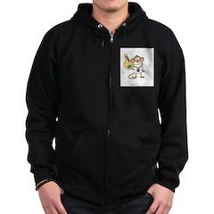 OKLAHOMA MONKEY Zip Hoodie (dark)