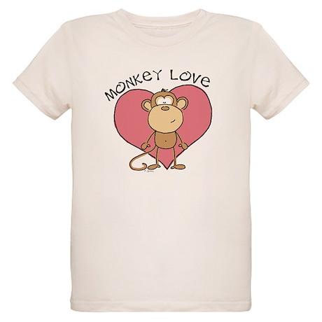 Monkey Love Organic Kids T-Shirt