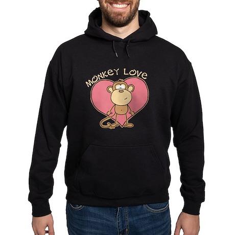 Monkey Love Hoodie (dark)