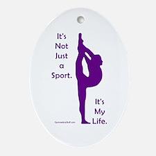 Gymnastics Ornament - Life