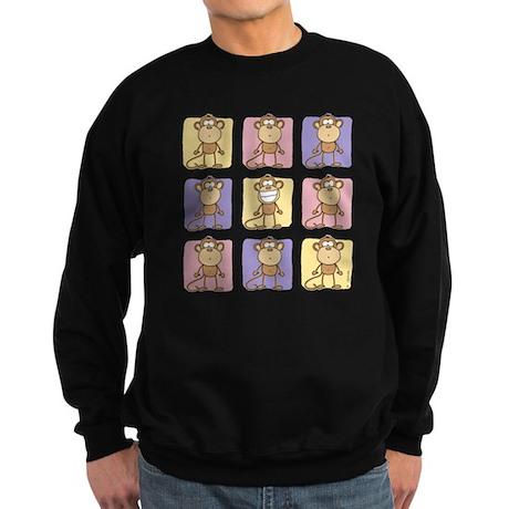 9 Monkeys Pastel Sweatshirt (dark)