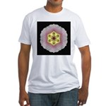 Hollyhock I Fitted T-Shirt
