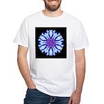 Bachelors Button III White T-Shirt