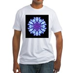 Bachelors Button III Fitted T-Shirt