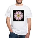 Lavendar Pink Peony II White T-Shirt