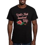 Sensational Wife Men's Fitted T-Shirt (dark)