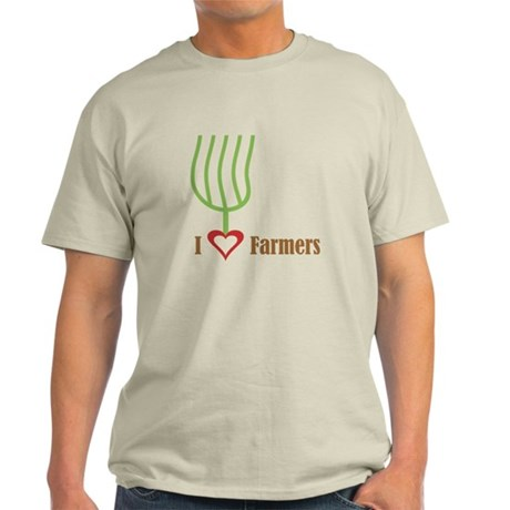 I Heart Farmers Light T-Shirt