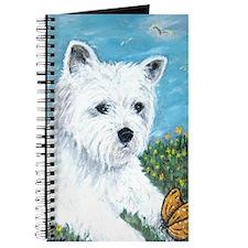 Westie & Butterfly Journal