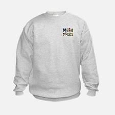 Two Sides Printed Design Sweatshirt