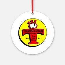 """TRANSOGRAM"" Ornament (Round)"