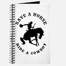 Save a Horse Ride a Cowboy Journal