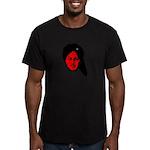 Bhagat Singh - Men's Fitted T-Shirt (dark)