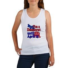 Democrat til April 15 Women's Tank Top