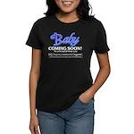 Baby - Coming Soon! Women's Dark T-Shirt