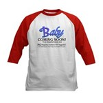 Baby - Coming Soon! Kids Baseball Jersey