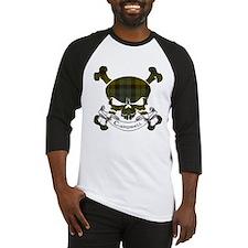 Campbell Tartan Skull Baseball Jersey