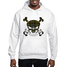 Campbell Tartan Skull Hoodie Sweatshirt