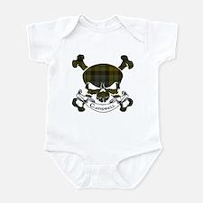 Campbell Tartan Skull Infant Bodysuit