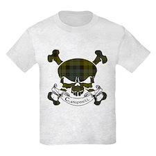 Campbell Tartan Skull T-Shirt