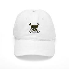 Campbell Tartan Skull Baseball Cap