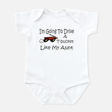 Drive A TBucket Like My Aunt Infant Bodysuit