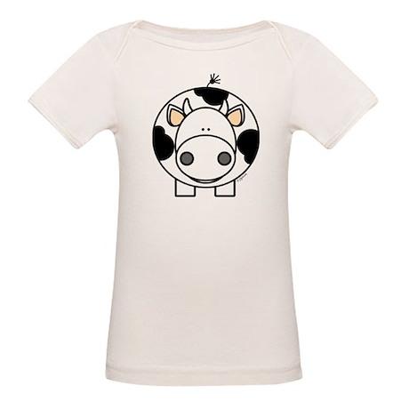 Cow Organic Baby T-Shirt