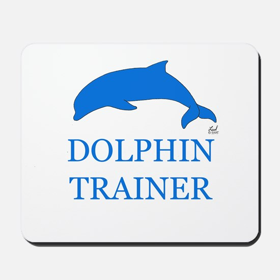 Dolphin Trainer Mousepad