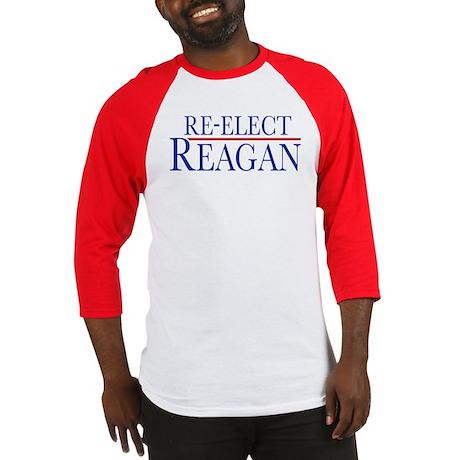 Re-Elect Reagan Baseball Jersey