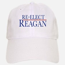Re-Elect Reagan Baseball Baseball Cap
