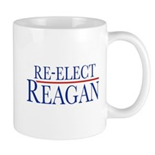 Re-Elect Reagan Small Mug