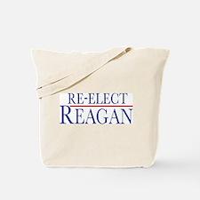 Re-Elect Reagan Tote Bag