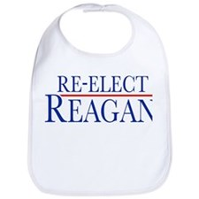 Re-Elect Reagan Bib