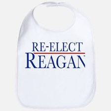 Re-Elect Reagan Bib