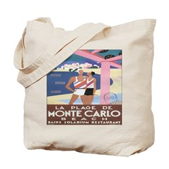 Monte Carlo Art Deco Tote Bag