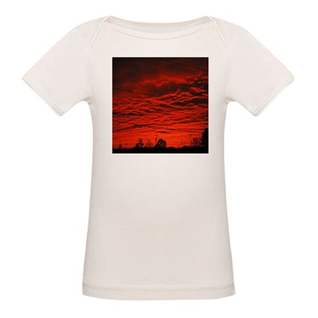 Delta Fiery Sunrise Organic Baby T-Shirt
