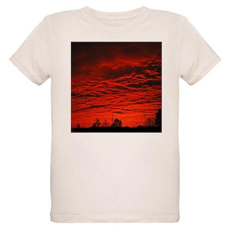 Delta Fiery Sunrise Organic Kids T-Shirt
