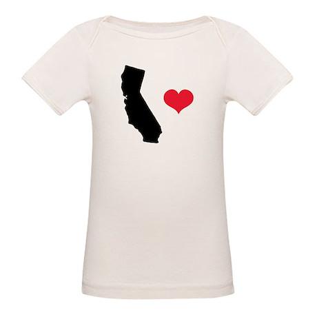 California Love Organic Baby T-Shirt