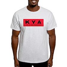 KYA San Francisco 1960 -  Ash Grey T-Shirt