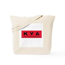 KYA San Francisco 1960 -  Tote Bag