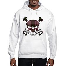Chapman Tartan Skull Hoodie