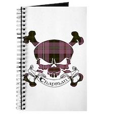 Chapman Tartan Skull Journal