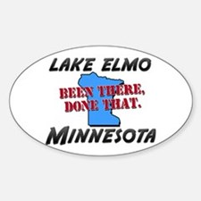 lake elmo minnesota - been there, done that Sticke