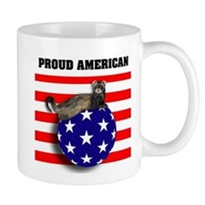 American Flag Ferret Stars & Stripes Mug