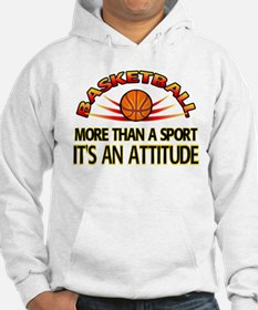 Basketball- It's An Attitude Hoodie