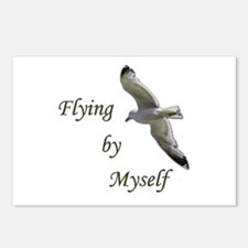 Flying By Myself Postcards (Package of 8)