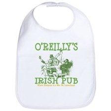 O'Reilly's Irish Pub Personalized Bib