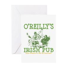 O'Reilly's Irish Pub Personalized Greeting Card