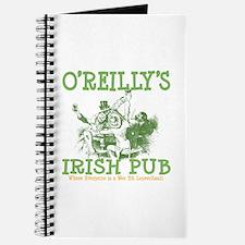 O'Reilly's Irish Pub Personalized Journal