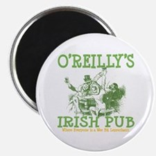 "O'Reilly's Irish Pub Personalized 2.25"" Magnet (10"