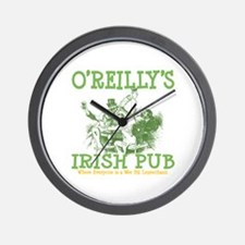 O'Reilly's Irish Pub Personalized Wall Clock